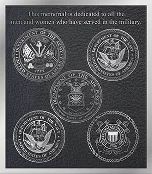 aluminum Military Plaque, cast bronze military plaques, cast bronze military plaques